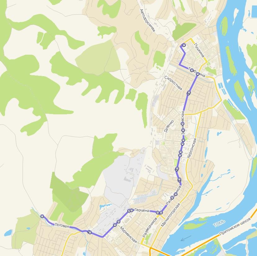 Автобус №12 АБАШЕВО - С/О ЖЕМЧУЖИНА | Расписание и маршрут движения