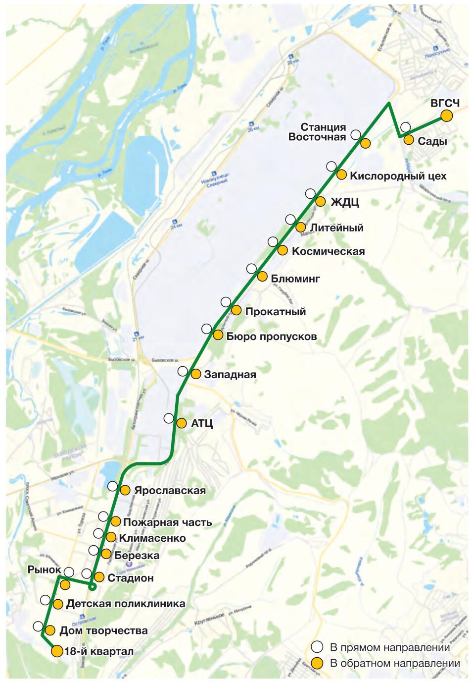 Автобус №24 ВГСЧ - ДОМ ТВОРЧЕСТВА | Карта маршрута